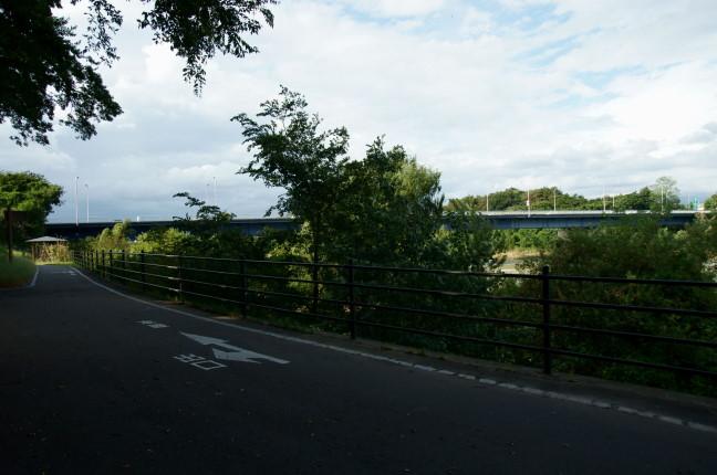 自転車道 群馬 自転車道 : 育英高校を通り過ぎ、少し走る ...